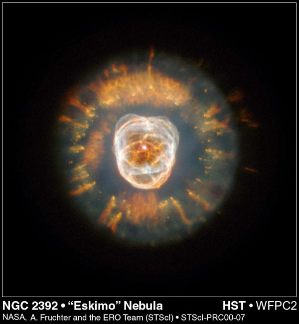 The Eskimo Nebula (NGC 2392)