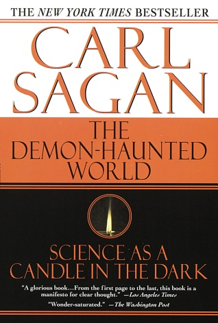 Book cover of The Demon-Haunted World Science as a Candle in the Dark by Carl Sagan and Ann Druyan