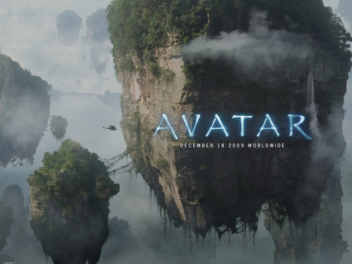 Avatar promotional wallpaper with floating islands