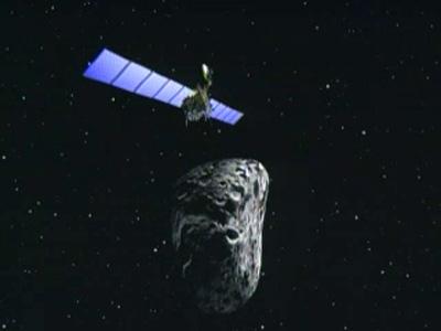 Rosetta spacecraft meets asteroid Steins