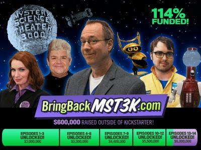 Bring Back MST3K Kickstarter