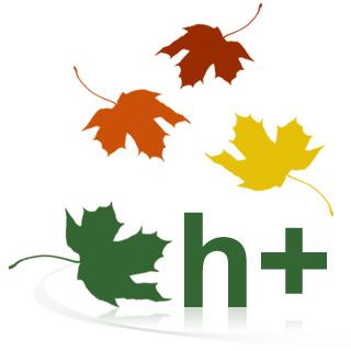 h+ Tucson leaves logo 2008