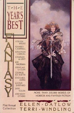 Book cover of The Year's Best Fantasy First Annual Collection edited by Ellen Datlow and Terri Windling