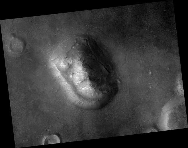 Popular Landform in Cydonia Region - Image Credit: NASA/JPL/University of Arizona