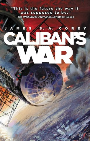 Caliban's War book cover from Goodreads