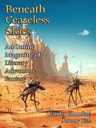 Beneath Ceaseless Skies Issue #206 magazine cover from Goodreads