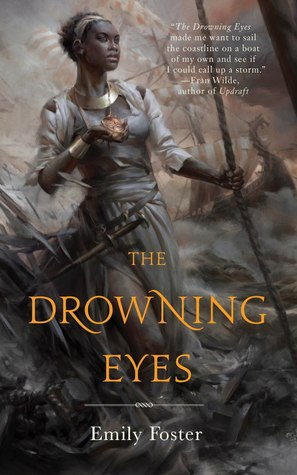 The Drowning Eyes by Emily Foster book cover from Goodreads