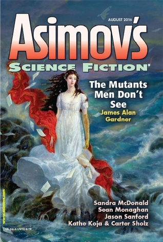 Asimov's Science Fiction August 2016 magazine cover
