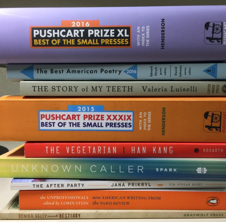 The Writers Studio Craft Class Spring 2017 reading list
