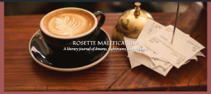 Screenshot of Rosette Maleficarum website header