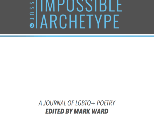 Cover of Issue 3 of Impossible Archetype, a Journal of LGBTQ+ Poetry, edited by Mark Ward