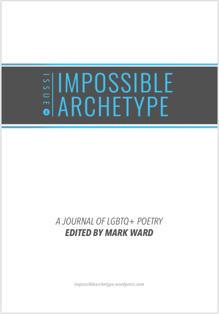 Cover of Impossible Archetype Issue 5 edited by Mark Ward