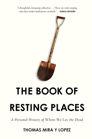 Book cover of The Book of Resting Places by Thomas Mira y Lopez