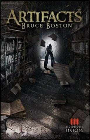 Book cover of Artifacts by Bruce Boston