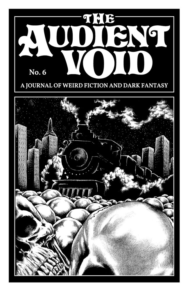 Cover of The Audient Void: A Journal of Weird Fiction and Dark Fantasy edited by Obadiah Baird