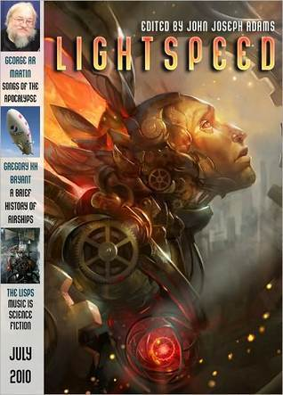 Cover of the July 2010 issue of Lightspeed Magazine edited by John Joseph Adams